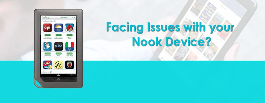 Facing Issues With Your Nook Screen