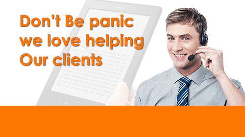 Dont Be Panic We Love Helping Our Clients