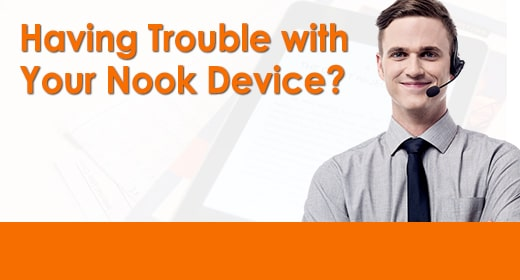 Having Trouble With Your Nook Device