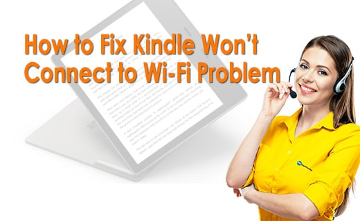 How TO FIx Kindle Wont Connect To wifi Problem