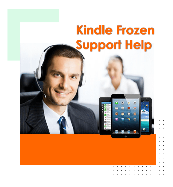 KIndle Frozen Support Help